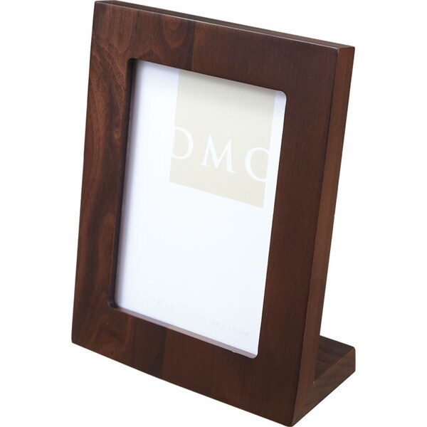 Visol Solid Willow Walnut Wood Photo Frame