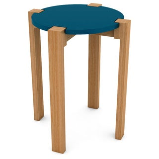 DarLiving Retro Wood Side Table
