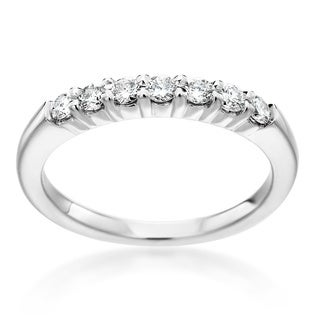 SummerRose 14k White Gold 1/3ct TDW Diamond Ring