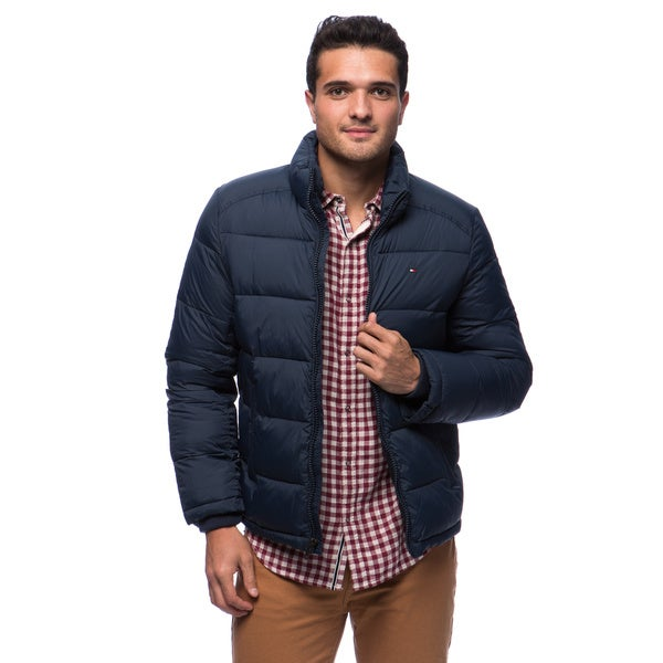 5ca959f32 Shop Tommy Hilfiger Men's Classic Nylon Puffer Jacket - Free ...
