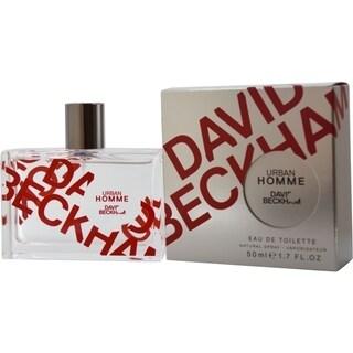 David Beckham Urban Homme Mens 1.7-ounce Eau de Toilette Spray