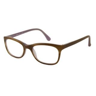 Michael Kors Women's MK247 Rectangular Reading Glasses