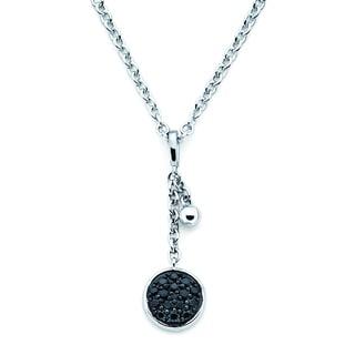 Lotopia® Pendant featuring Black Zirconia