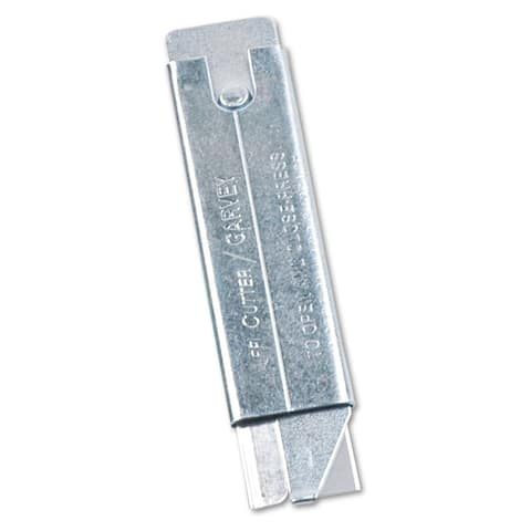 Jiffi-Cutter Chrome Compact Utility Knife (Pack of 12)
