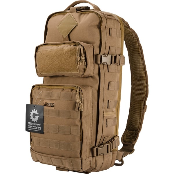 Loaded Gear GX-300 Dark Earth Tactical Sling Backpack
