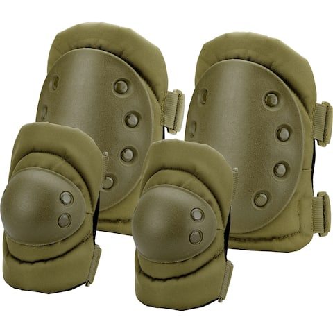 Loaded Gear OD Green CX-400 Elbow and Knee Pads