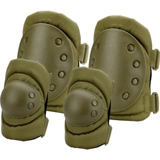 Loaded Gear OD Green CX-400 Elbow and Knee Pads|https://ak1.ostkcdn.com/images/products/10074806/P17218507.jpg?impolicy=medium