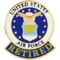 United States Air Force Logo Retired Pin