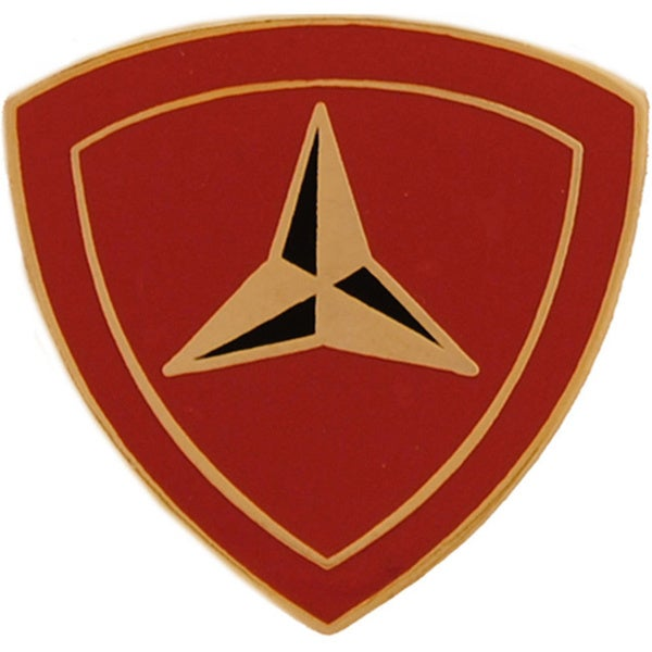 United States Marine Corps 003rd Division Pin