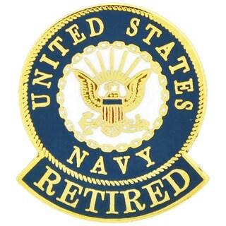 United States Navy Logo Retired Pin