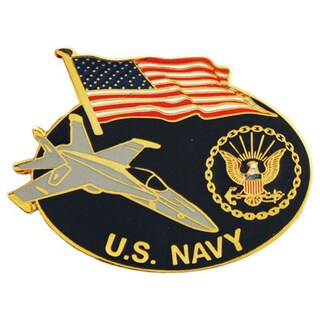 United States Navy Services Logo Pin