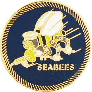 United States Navy Seabees Pin