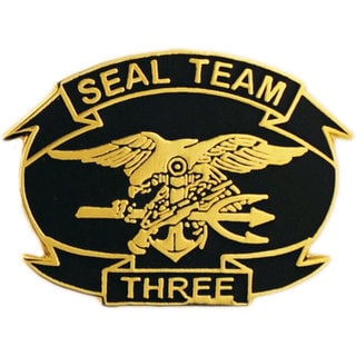 Shop United States Navy Seal Team Three Pin Free