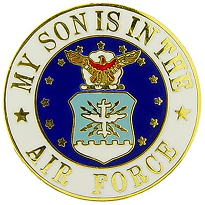 USAF My Son Is In The Air Force Pin