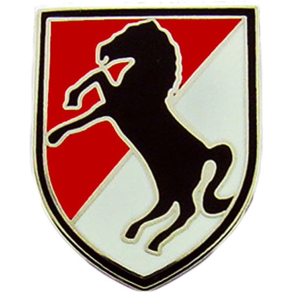 Shop Us Army 11th Armored Cavalry Division Pin On Sale