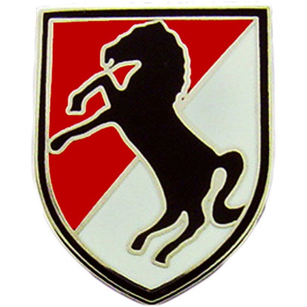 US Army 11th Armored Cavalry Division Pin
