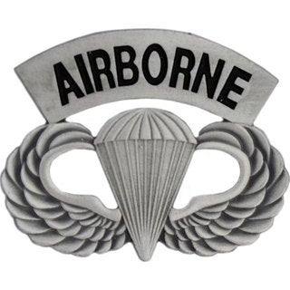 United States Army Paratrooper Badge Pin