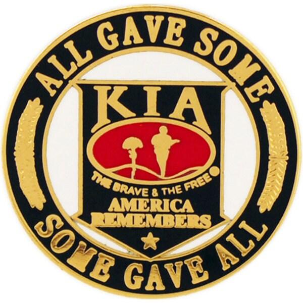 KIA America Remembers Pin