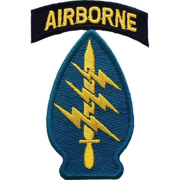 Special Forces Airborne Patch Free Shipping On Orders