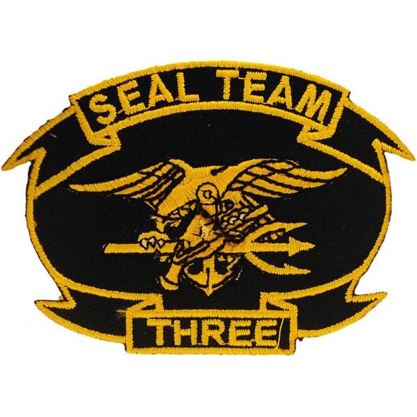US Navy Seal Team Three Patch
