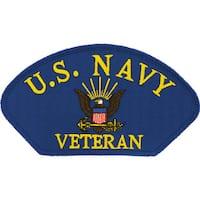 US Navy Veteran Logo Patch