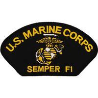 US Marine Corps Semper Fi Logo Patch
