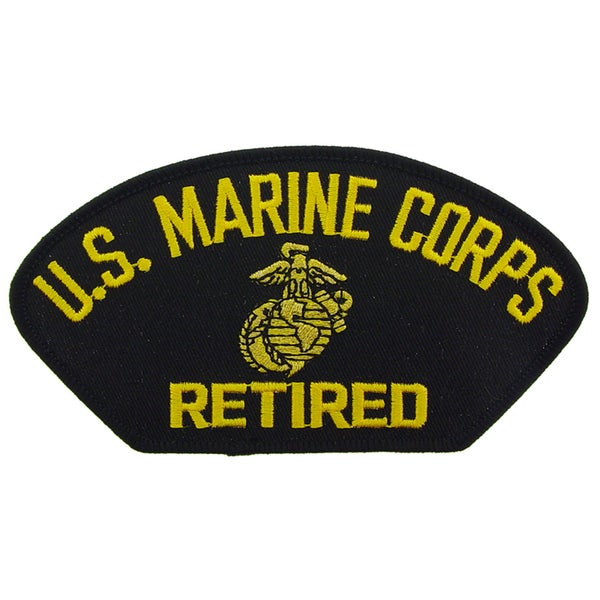US Marine Corps Logo Retired Patch