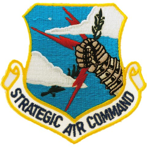US Air Force Strategic Air Command Patch