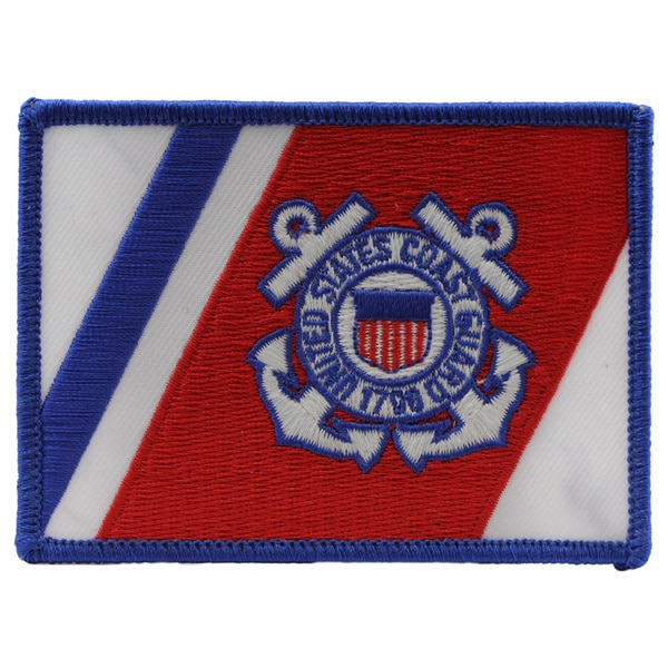 US Coast Guard Flag Patch