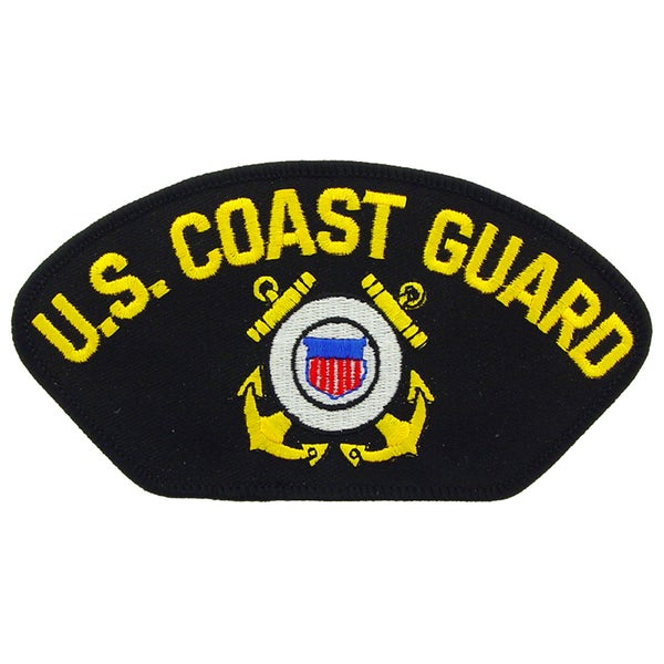 Us Coast Guard Logo Patch Free Shipping On Orders Over