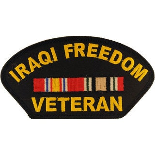Iraqi Freedon Veteran Patch
