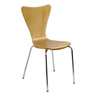 Legare Furniture Bent Ply Chair in Natural Finish, 34 x 17