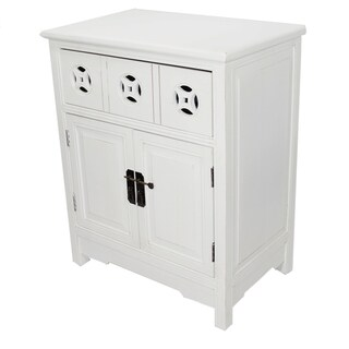 Heather Ann 2-door, Single Drawer Accent Cabinet