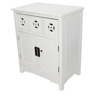 Heather Ann 2-door, Single Drawer Accent Cabinet