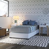 Twin Bed in Brown or White