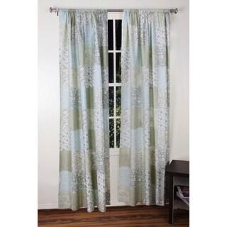 Jovi Home Flower Garden Patchwork Window Panel 50-inch x 84-inch