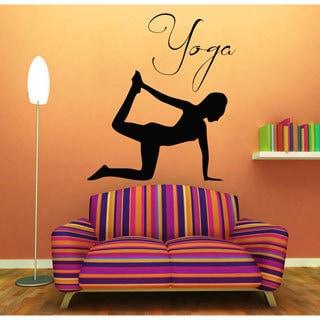 Yoga Vinyl Wall Art
