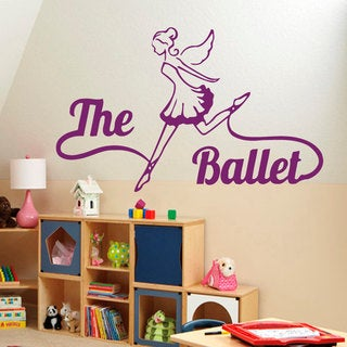 The Ballet Room Sticker Vinyl Wall Art