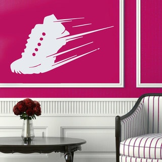 Sport Shoe Running Track and Field Sticker Vinyl Wall Art
