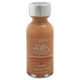 L'oreal True Match Super Blendable # N3 Natural Buff Makeup