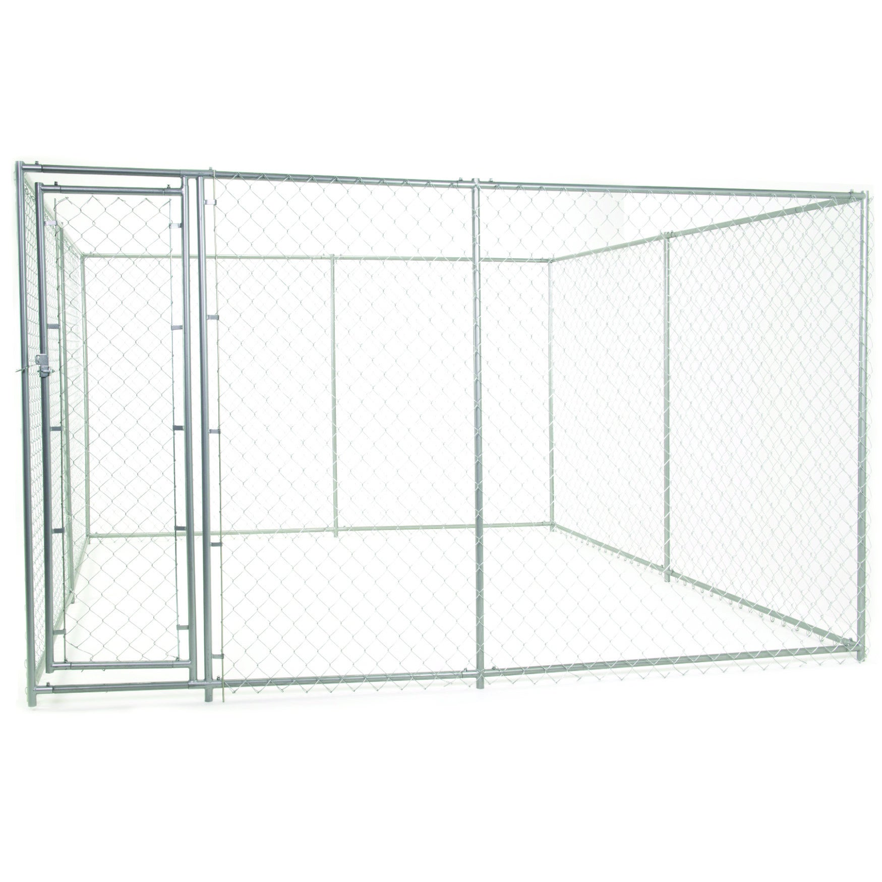 Lucky Dog 2-in-1 10-foot Square/ 15-foot Rectangle Galvan...