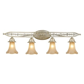 Chelsea Collection 4-light Vanity Light With Embedded Crystal