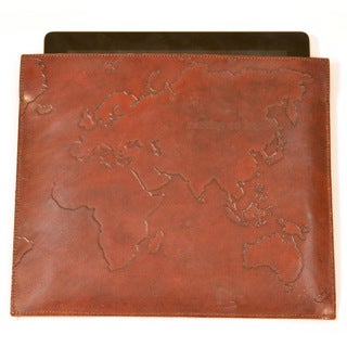 Handmade Gone Global Leather iPad Case (India)