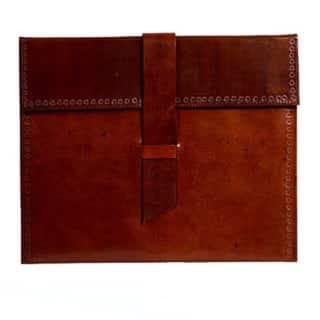 Handmade Leather iPad Case (India)|https://ak1.ostkcdn.com/images/products/10075420/P17219048.jpg?impolicy=medium