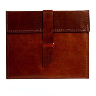 Handmade Leather iPad Case (India)