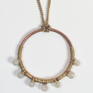 White Full Radius Necklace (India)
