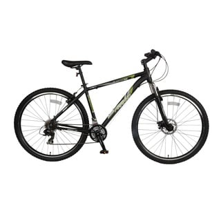 Piranha Men's Black/ Green Arsenal 1.7 Hardtail Mountain Bicycle with 29-inch Wheels and 17-inch Frame