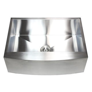 30-inch Stainless Steel Farmhouse Single Bowl Kitchen Sink
