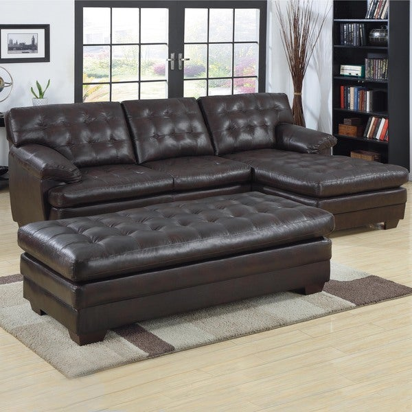 Dwight Sectional Sofa With Chaise And Optional Ottoman