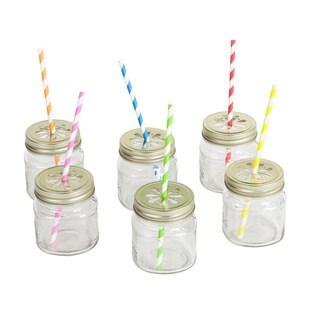 Mason Jar Tumbler Party Box Set
